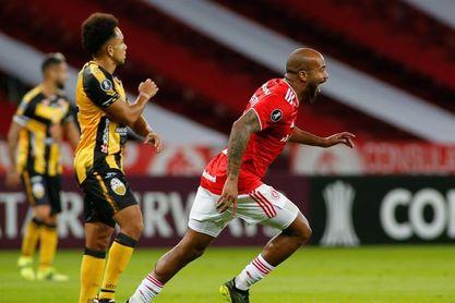 4-0. Internacional recupera terreno en el Grupo B de la Libertadores, con una goleada al Táchira