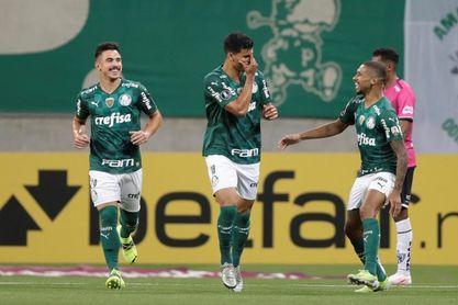 5-0. Palmeiras atropella a Independiente del Valle y sigue firme al frente del grupo A