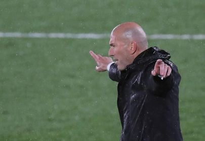 """Zidane: """"Al final creo que es un resultado justo"""""""
