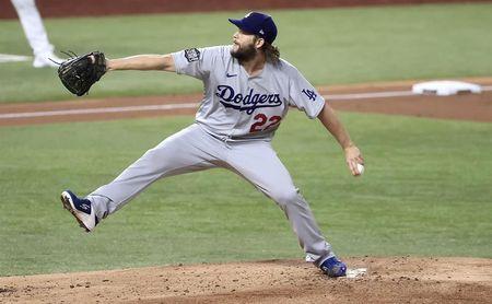 8-0. Kershaw lanza sólido para los Dodgers y blanquea a los Rojos