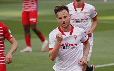"""Rakitic: """"Sólo pensamos en el Athletic, es el partido más importante""""."""
