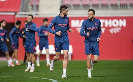 Baja importante en el entrenamiento del Sevilla