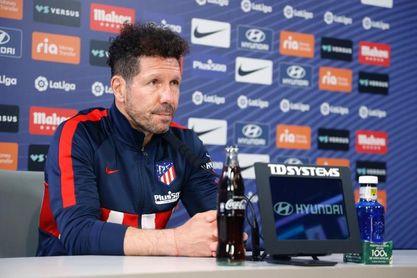 """Simeone: """"Hace bien al fútbol español que cuatro equipos compitan por ganar"""""""