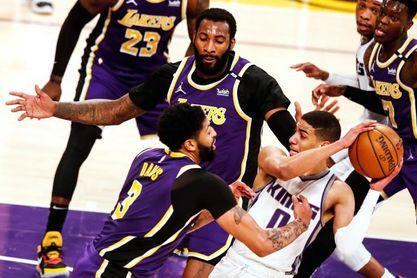 106-110. Kings endosan una derrota a Lakers en el retorno de James