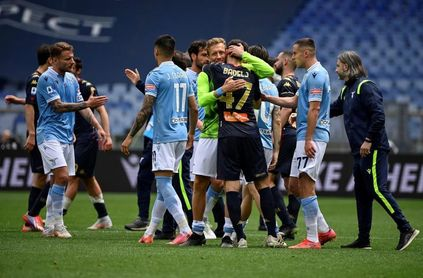 """Correa, Luis Alberto e Immobile enseñan al Lazio el camino de la """"Champions"""""""