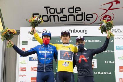 Geraint Thomas sentencia en la contrarreloj y gana el Tour de Romandía