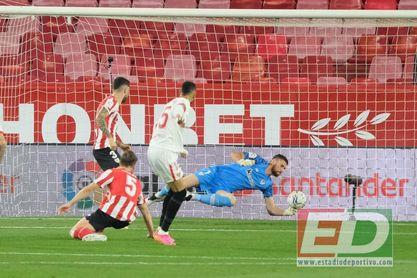"Sevilla FC 0-1 Athletic: Unai canta ""Nanai, yo no te voy a dejar"""