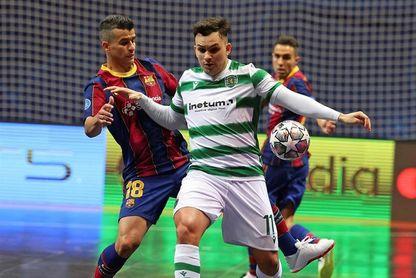 3-4. El Sporting remonta la final al Barça en cinco minutosG LISBOA