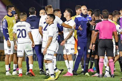 0-1. Ante Bragantino, el colombiano Valoyes marca en el descuento y le da la victoria a Talleres