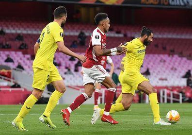 0-0. El Villarreal resiste a base de palos y estará en la final