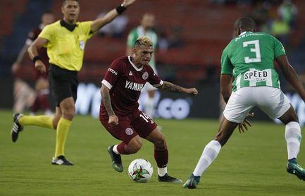 0-1. Un gol de Lucas Vera pone a soñar a Lanús