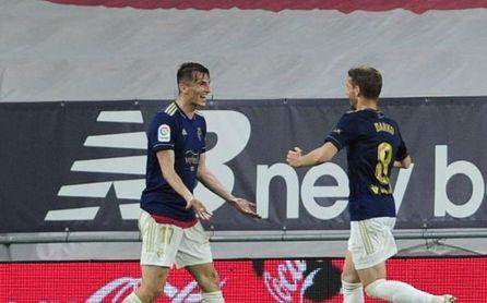 Athletic 2-2 Osasuna: El Betis respira con el gol de Budimir