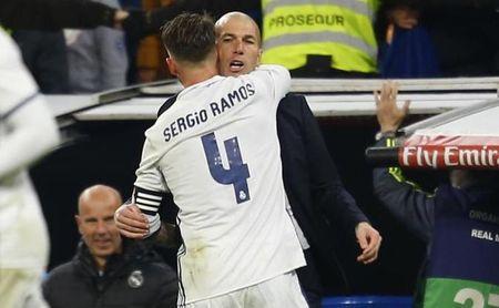 """Zidane elogia al Sevilla, """"un equipo diferente"""", lamenta la baja de Ramos y cree que su situación """"se arreglará"""""""