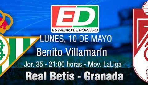 Real Betis - Granada: Europa no puede esperar más