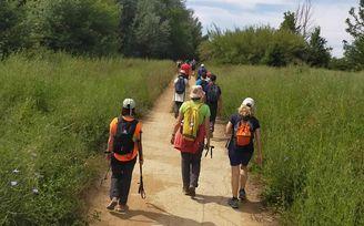 La última ruta en el medio natural del SADUS: todo un éxito.