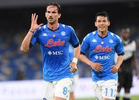El Nápoles pone precio de salida a Fabián.