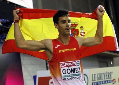 Jesús Gómez destroza la marca de Cacho en una reunión con dos récords y una mínima