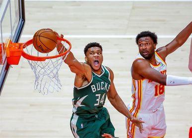 133-142. Ante los Pacers, Antetokounmpo y los Bucks siguen en la lucha por el segundo puesto del Este