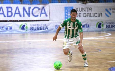 El Betis Futsal cae ante un Burela que se acerca a la salvación (5-3)