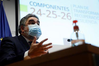 """Rodríguez Uribes: """"Mantuvimos LaLiga, aún sin público, y fue positivo"""""""