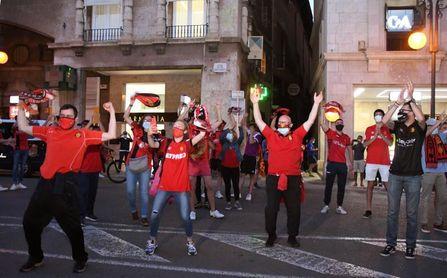 El Mallorca vuelve a Primera División diez meses después