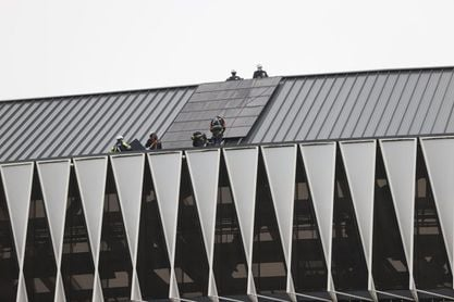 San Mamés instala 300 equipos solares y evita la emisión de 425 toneladas de CO2