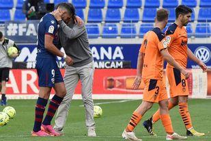 0-0. Mazazo para un Huesca que no fue capaz de ganar y desciende