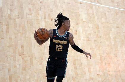 112-117. Morant puede con Curry y los Grizzlies eliminan a los Warriors en play-in