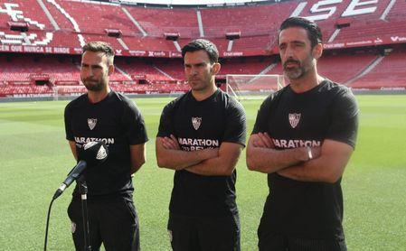 Los mejores amigos de los futbolistas del Sevilla FC.