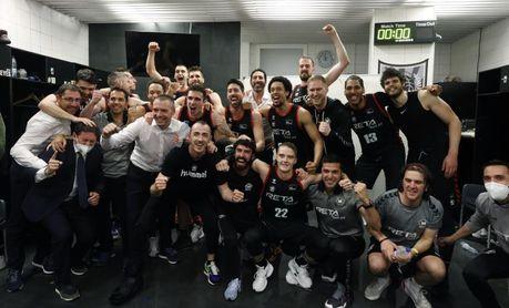 94-73. El Bilbao Basket sella la salvación con contundencia