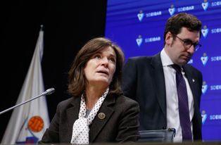 Gorostiza dice que el proyecto del Eibar ´sigue adelante´ pese al descenso