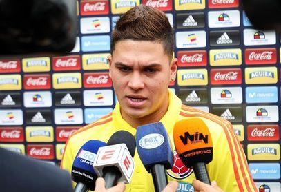 Colombia pierde a Juan Fernando Quintero para los duelos contra Perú y Argentina