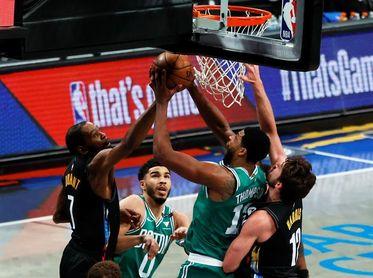 """130-108. Joe Harris hace de """"Big Four"""" y los Nets se ponen con 2-0 ante los Celtics"""