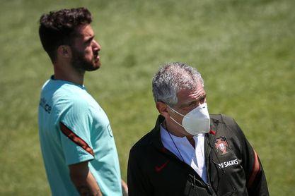 Un control antidopaje de la UEFA altera el entrenamiento de la selección portuguesa