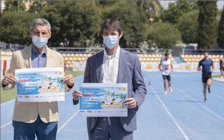 San Pablo estrena pista con el Nacional sub14 de atletismo