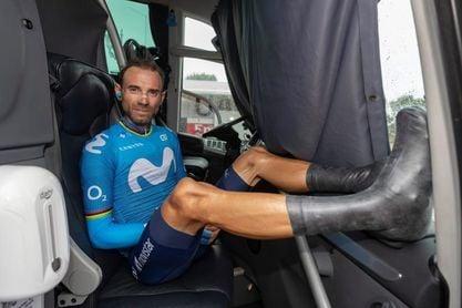 Alejandro Valverde, el decano del pelotón del Dauphiné