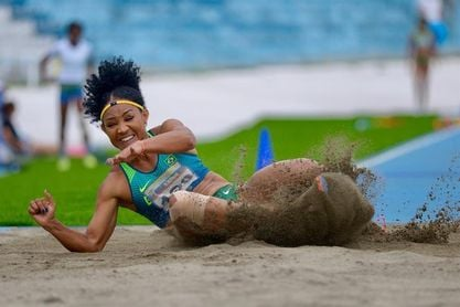 Brasil manda en el medallero y Ecuador en marcha en el Sudamericano de Atletismo