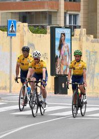 De Toledo a Almería en bicicleta para construir un hospital en Bangassou