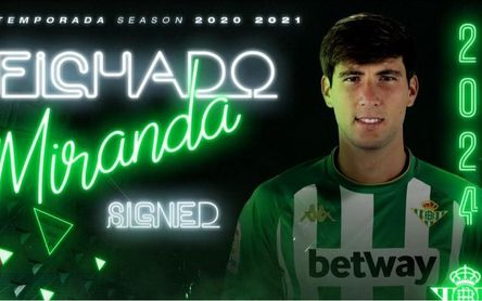 Oficial: Juan Miranda, nuevo jugador del Betis hasta 2024