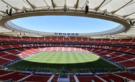 El Atlético implantará el reconocimiento facial en su estadio la próxima temporada