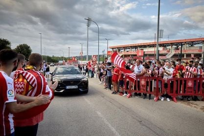 El Girona contará con 1.500 aficionados en Montilivi para recibir al Almería