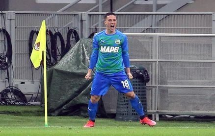 El joven delantero Raspadori, gran novedad en la lista definitiva de Italia