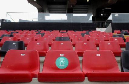 El estadio de Vallecas acogerá a 1.500 espectadores para el Rayo-Leganés