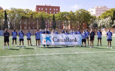 CaixaBank se une a la familia de patrocinadores del Sporting Club de Huelva