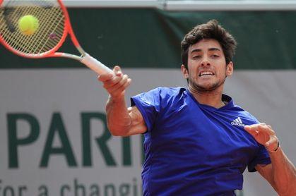 Garín pasa a los octavos de un Grand Slam por primera vez