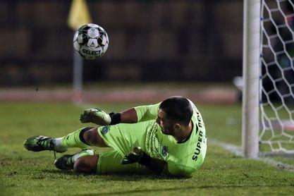 Adán, mejor portero del año en la Liga Portugal