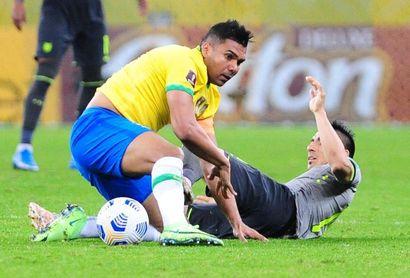 """""""En el momento oportuno, hablaremos"""", dice Casemiro sobre la Copa América"""