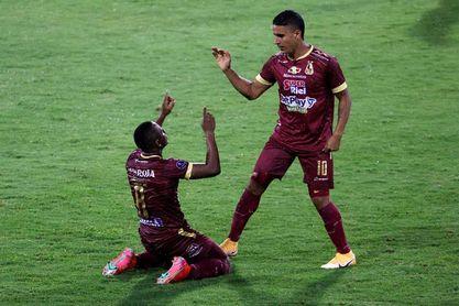 Tolima pierde pero se mete en las semifinales en el regreso de la liga colombiana