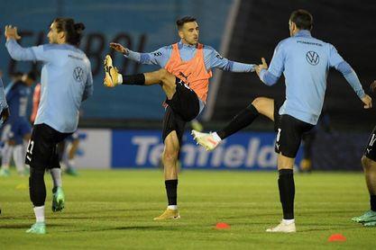 """Trabajos de recuperación y vacunas en la """"burbuja"""" de la selección uruguaya"""