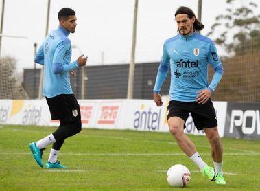 Cavani se suma a los entrenamientos de Uruguay pensando en la Copa América